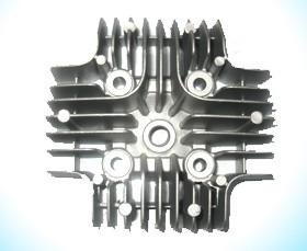 铝压铸摩托车汽缸盖配件